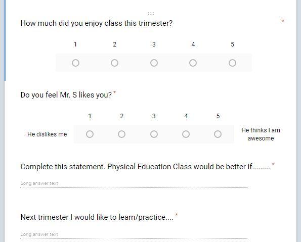 trimester questions